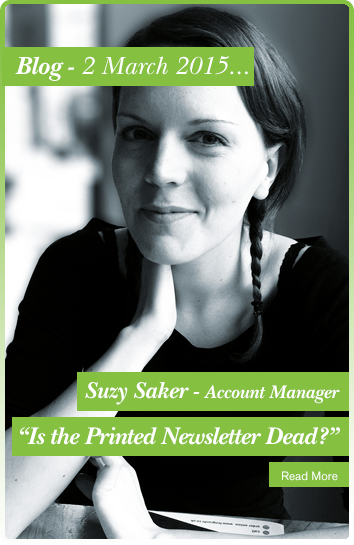 Suzy Saker, Is the Printed Newsletter Dead?