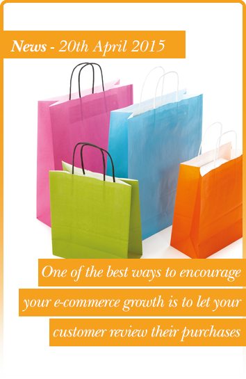 One of the best ways to encourage your e-commerce growth is to let your customer review their purchases